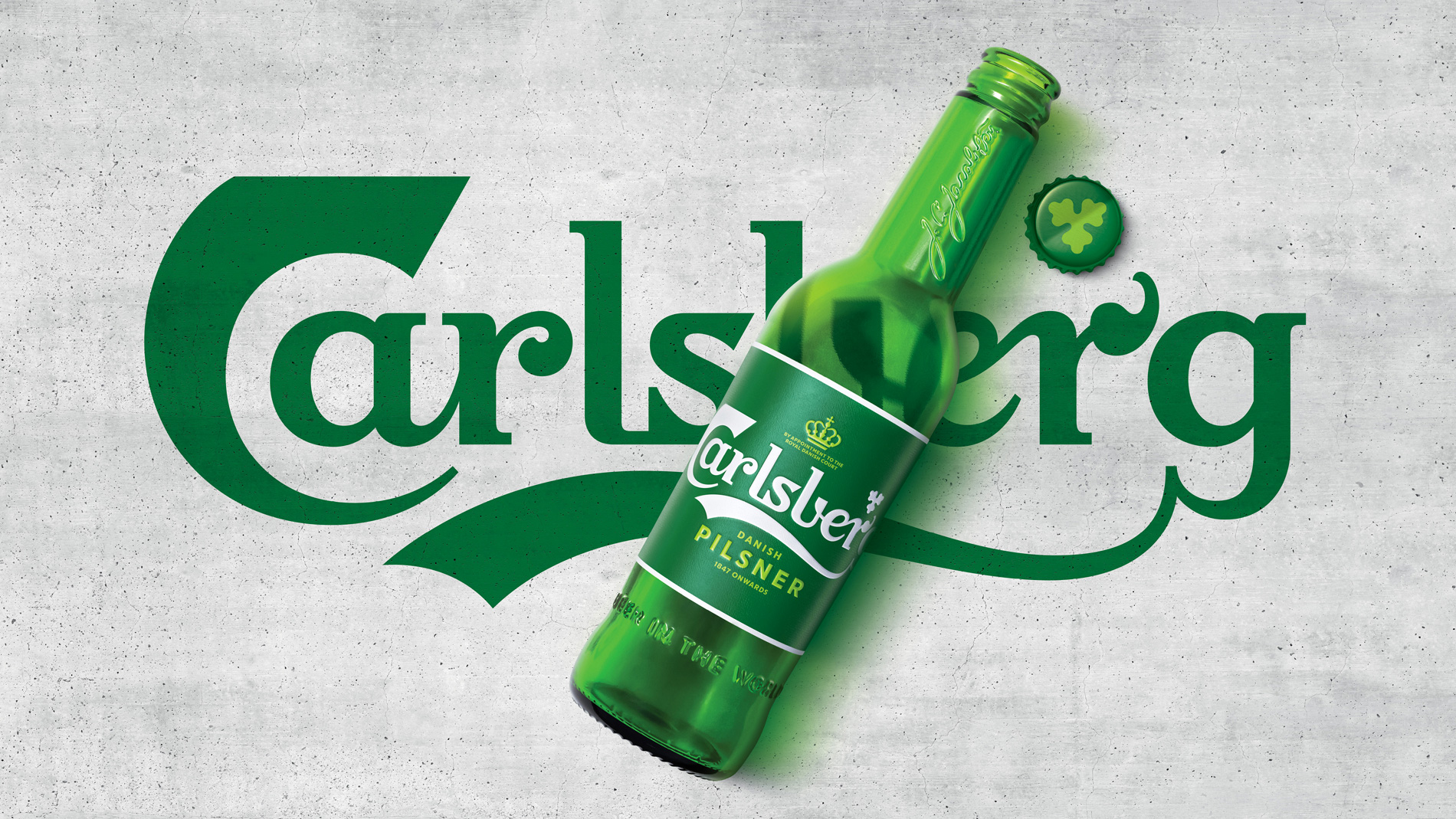 Carlsberg. Probably the best logo in the world?